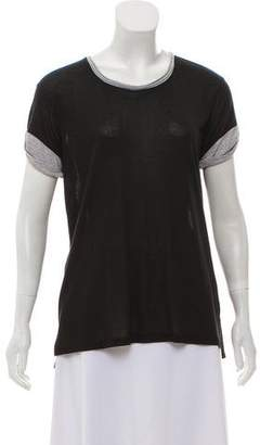 Vince Short Sleeve Knit Top