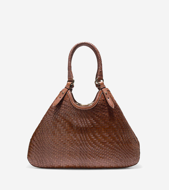 Cole Haan  Genevieve Weave Large Triangle Tote