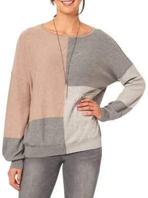 Democracy Classic Colorblock Sweater