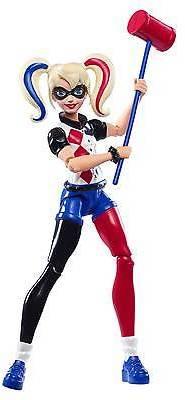 DC Super Hero Girls' Harley Quinn 6-Inch Action Figure