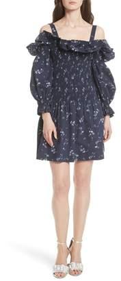 Rebecca Taylor Francine Cold Shoulder Dress