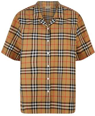 Burberry Short Sleeve Vintage Check Shirt