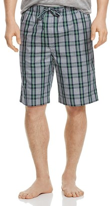 Derek Rose Barker 13 Plaid Lounge Shorts $100 thestylecure.com