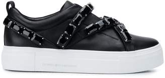 Kennel + Schmenger Kennel&Schmenger embellished low-top platform sneakers