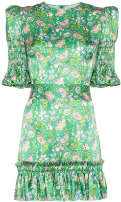 The Vampire's Wife Whole Lotta Trouble floral print dress