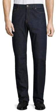 Peter Millar Crown Washed Slim-Fit Jeans