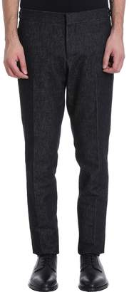 Thom Browne Skinny Low Rise Denim Jeans