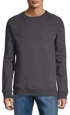 Helmut Lang Crewneck Raglan-Sleeve Cotton Sweatshirt