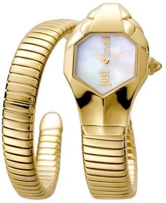 Just Cavalli Women's Glam Chic Cuff Watch, 22mm