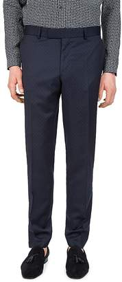 The Kooples Stitched Lines Slim Fit Dress Pants