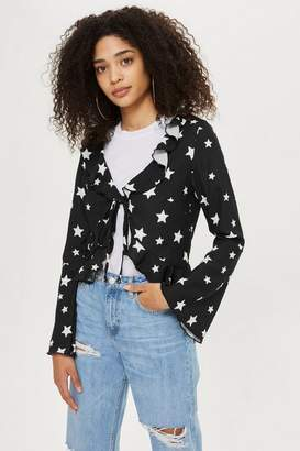 Oh My Love **Star Print Blouse