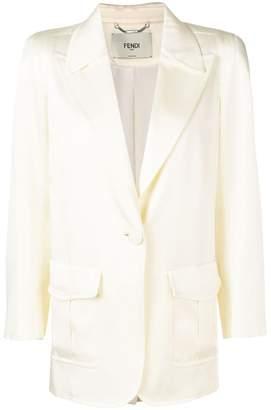 Fendi tailored fit blazer