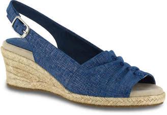 Easy Street Shoes Kindly Espadrille Wedge Sandal - Women's