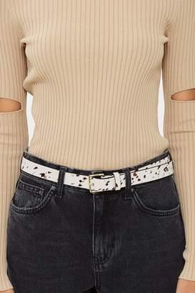 Topshop Cow Belt