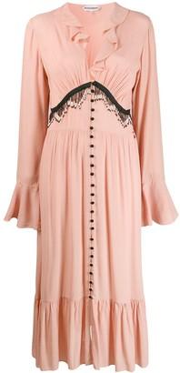 Giacobino bead embellished dress