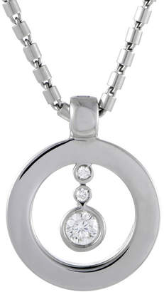Roberto Coin Heritage  18K White Gold 0.30 Ct. Tw. Diamond Necklace