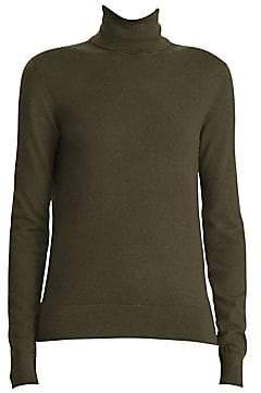 Ralph Lauren Women's 50th Anniversary Cashmere Turtleneck Sweater