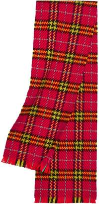 Burberry Vintage Check Merino Wool Scarf