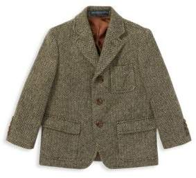 Ralph Lauren Little Boy's& Boy's Princeton Herringbone Jacket