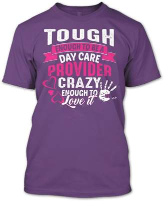 DAY Birger et Mikkelsen Online Store 247 Tough Enough to Be A Care Provider T Shirt, Baby Sitter Shirt, Jobs Shirts Hoodie (XL,Black)