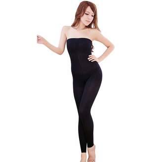 a3111fe04b927c Kadola Anti Swelling Sculpting Sleep Leg Shaper Pants Women High Waist Body  Shaper Footsteps Sleeping Beauty