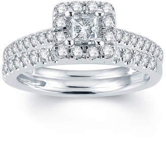 MODERN BRIDE Modern Bride Signature 1 CT. T.W. Diamond 14K White Gold Engagement Ring