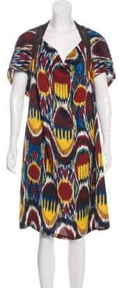 Dries Van Noten Silk-Blend Dress