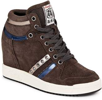 Ash Women's Prince Leather High-Top Sneakers