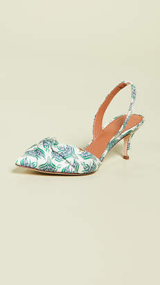 Tory Burch Charlotte 65mm Slingback Pumps