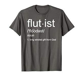 Funny Flute Player Shirt Cute Marching Band Flutist Gift