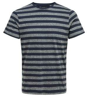ONLY & SONS Striped Crewneck Tee