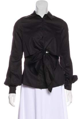 Alexis Long Sleeve Button-Up Blouse