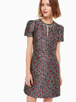 Kate Spade Floral park jacquard dress