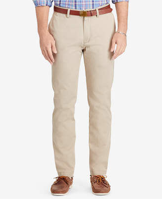 Polo Ralph Lauren Men's Relaxed-Fit Hudson-Tan Suffield Pants $85 thestylecure.com