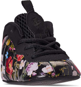 Nike Girls' Infant Little Posite One Crib Booties