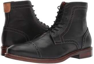 Johnston & Murphy Warner Cap Toe Zip Boot Men's Dress Lace-up Boots