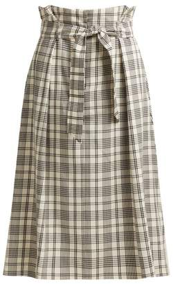 Max Mara Gommoso Skirt - Womens - White Multi