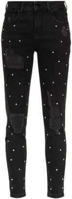 Amapô embellished skinny jeans