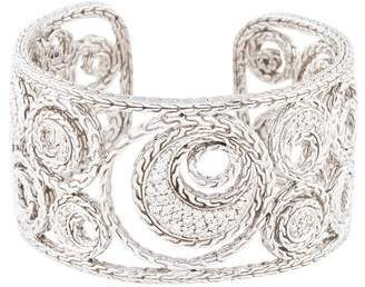 John Hardy Diamond Langit Cuff