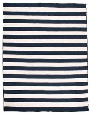 """Striped Braided Rug 9' x 11'10"""""""