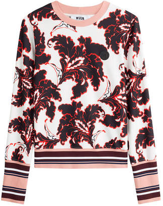 MSGM Printed Pullover