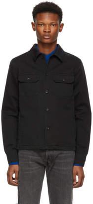 Maison Margiela Black Gabardine Shirt