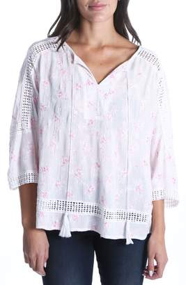 KUT from the Kloth Embroidered Blouse