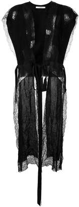 Givenchy lace panel long top