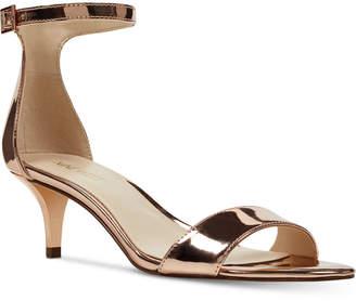 Nine West Leisa Two-Piece Kitten-Heel Sandals Women's Shoes