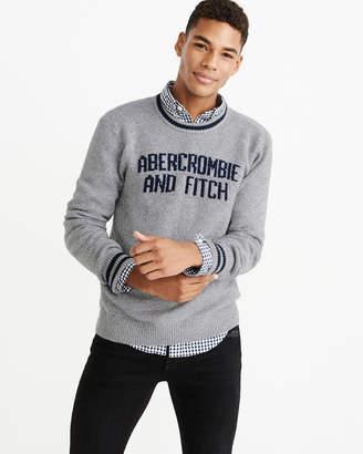 Abercrombie & Fitch Varsity Intarsia Sweater