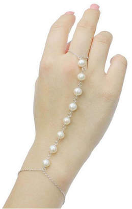 Splendid FINE JEWELRY Pearls Sterling Silver 6 Inch Solid Cable Chain Bracelet