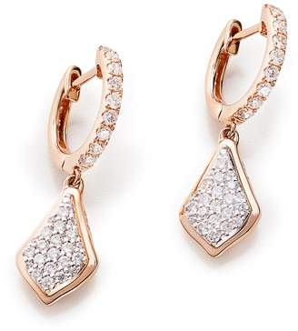 Kendra Scott Luella Pave Diamond Drop Earrings