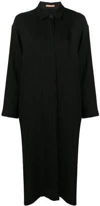DAY Birger et Mikkelsen Nehera side slit boxy shirt dress