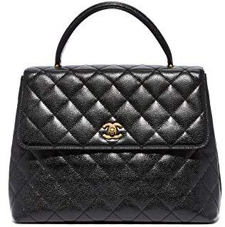 Chanel What Goes Around Comes Around Kelly Satchel (Previously Owned)